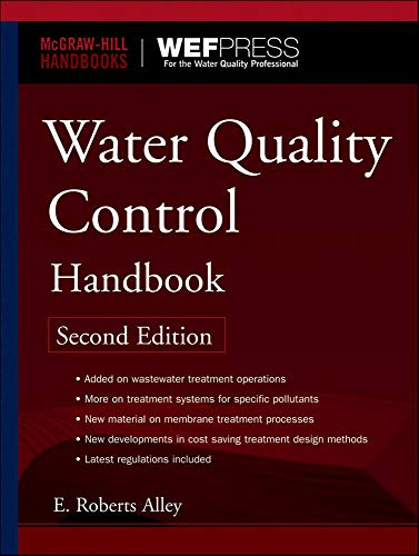 9780071467605: Water Quality Control Handbook, Second Edition (McGraw-Hill Handbooks)