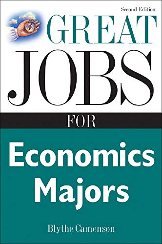 9780071467742: Great Jobs for Economics Majors (Great Jobs For... Series)