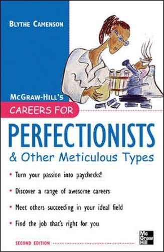 9780071467780: Careers for Perfectionists & Other Meticulous Types, 2nd Ed. (Careers For Series)