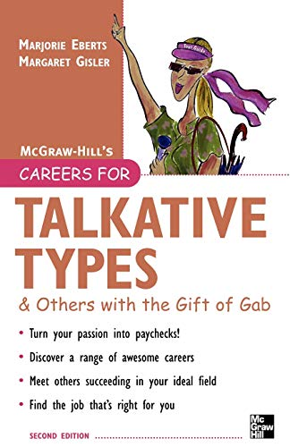 9780071467797: Careers for Talkative Types And Others With the Gift of Gab, 2nd ed. (Careers For Series)