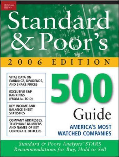 The Standard & Poor's 500 Guide (Standard: Standard & Poor's