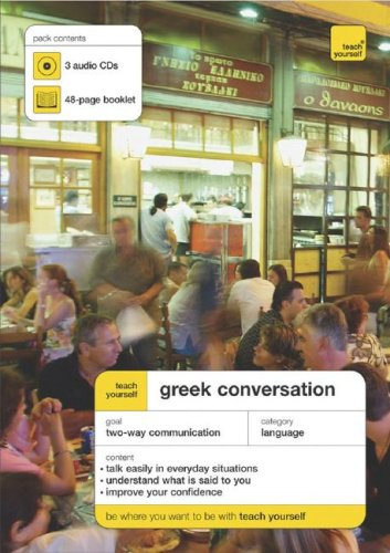 9780071468350: Greek Conversation [With 48-Page Booklet] (Teach Yourself Conversation)