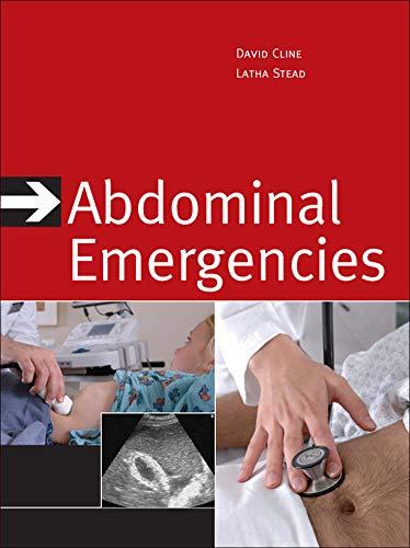 9780071468619: Abdominal Emergencies (Internal Medicine)