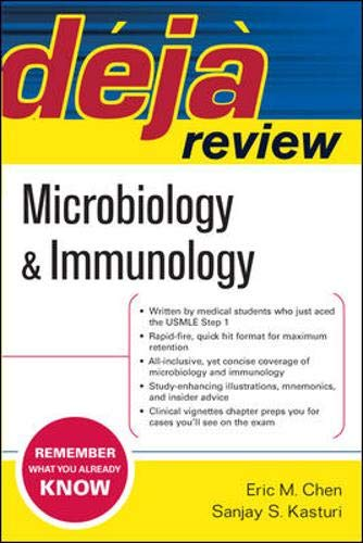 9780071468664: Deja Review Microbiology & Immunology