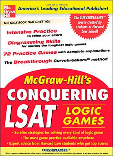 9780071468725: McGraw-Hill's Conquering LSAT Logic Games