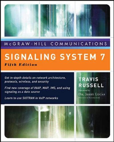 9780071468794: Signaling System #7, Fifth Edition (McGraw-Hill Computer Communications Series)