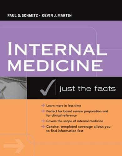 9780071468879: Internal Medicine: Just the Facts