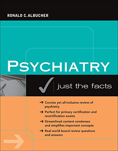 9780071468978: Psychiatry: Just the Facts