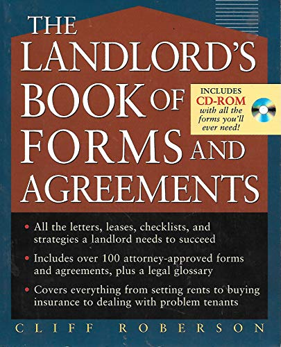 9780071469142: The Landlord's Book of Forms And Agreements (with CD)