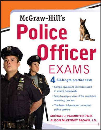 9780071469807: McGraw-Hill's Police Officer Exams