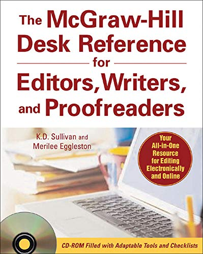 9780071470001: The McGraw-Hill Desk Reference for Editors, Writers, and Proofreaders (with CD-ROM)