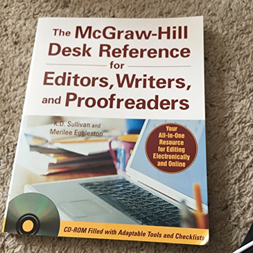 9780071470018: The Mcgraw-hill Desk Reference for Editors, Writers, and Proofreaders