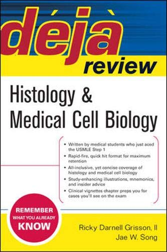 9780071470490: Deja Review Histology & Medical Cell Biology: Histology and Medical Cell Biology