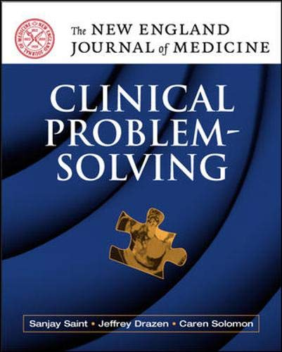 9780071471626: NEJM Clinical Problem Solving (New England Journal of Medicine)