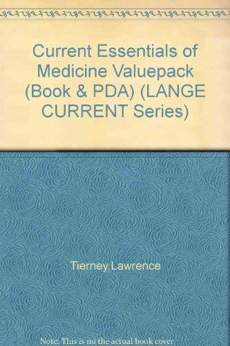 9780071471756: Current Essentials of Medicine Valuepack (Book & PDA) (LANGE CURRENT Series)