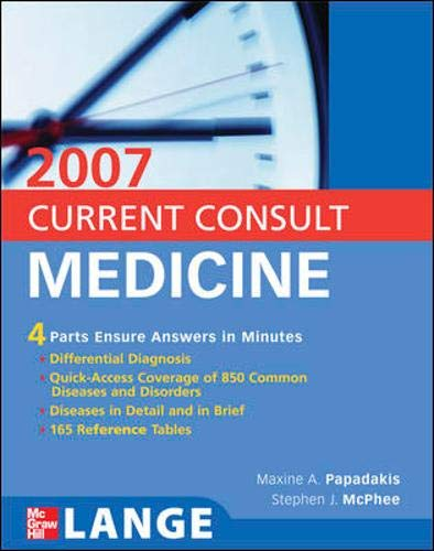 9780071472180: Current Consult Medicine 2007