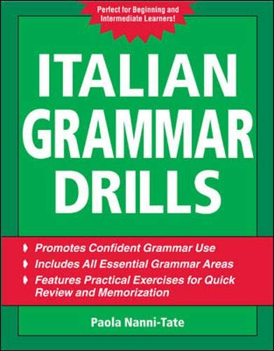 9780071472326: Italian Grammar Drills (Drills Series)