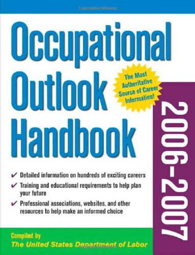 9780071472883: Occupational Outlook Handbook, 2006-2007 edition