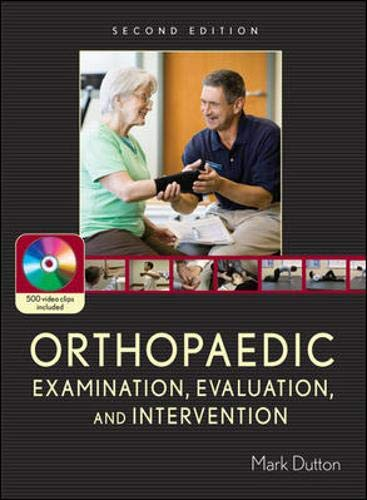 9780071474016: Orthopaedic Examination, Evaluation, and Intervention: Second Edition (Book & DVD)