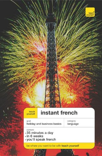 9780071474085: Teach Yourself Instant French Package (Book + 2CD ) (TY: Language Guides)