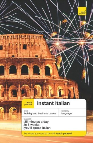9780071474245: Teach Yourself Instant Italian Pacakge (Book + 2CDs) (Teach Yourself Language)