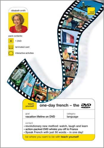 9780071474344: Teach Yourself One-Day French, DVD Edition