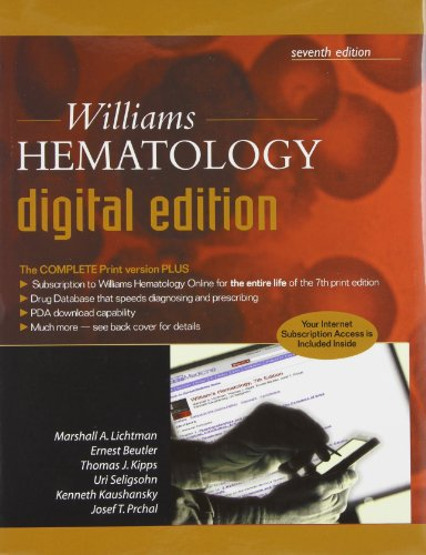 9780071474504: Williams Hematology Digital Edition
