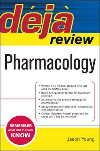 9780071474610: Deja Review Pharmacology