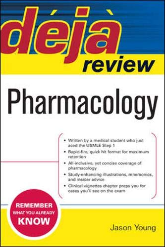 9780071474610: Deja Review Pharmacology