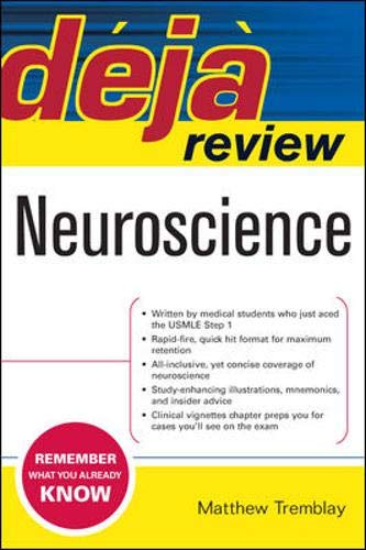 9780071474627: Deja Review Neuroscience