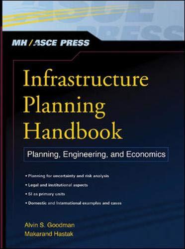 9780071474948: Infrastructure Planning Handbook: Planning, Engineering, and Economics