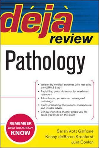 9780071474955: Deja Review Pathology