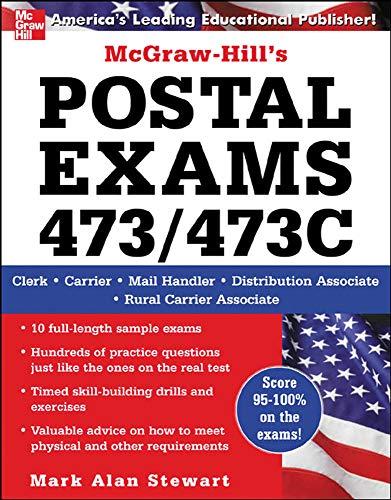 9780071475099: McGraw-Hill's Postal Exams 473/473C (No. 473/473c)