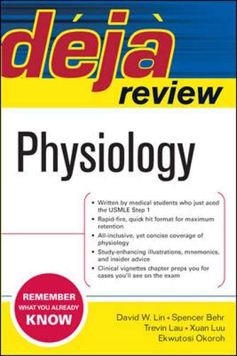 9780071475105: Deja Review Physiology