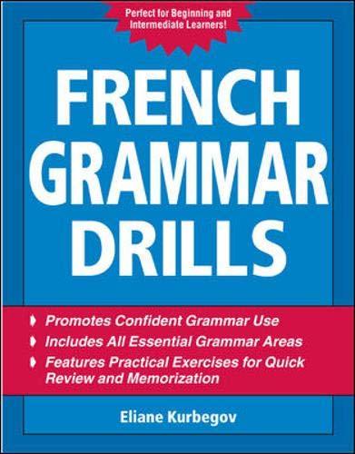 9780071475136: French Grammar Drills (Drills Series)