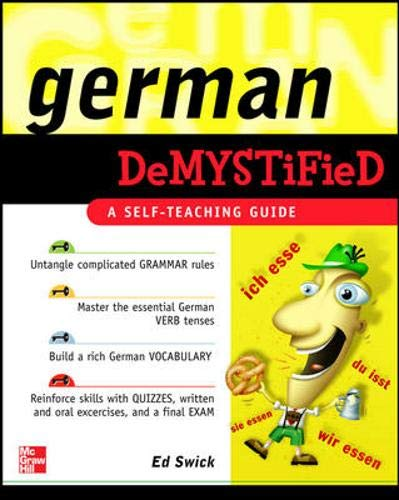 9780071475617: German Demystified: A Self Teaching Guide