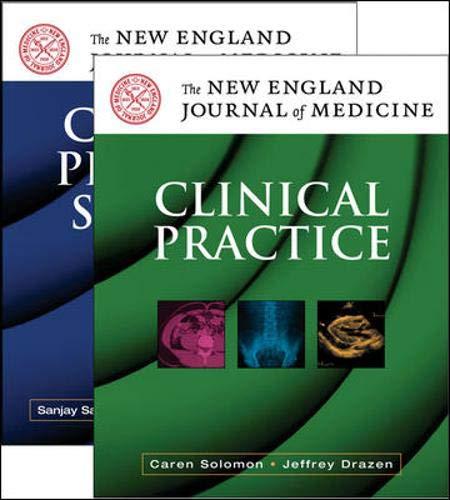 9780071475976: NEJM Valuepack (Includes: NEJM: Clinical Practice & NEJM: Clin Prob Solv)