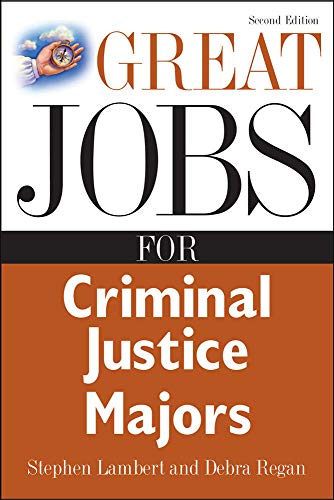 9780071476133: Great Jobs for Criminal Justice Majors (Great Jobs For...Series)