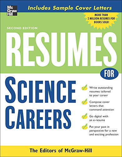9780071476195: Resumes for Science Careers (McGraw-Hill Professional Resumes)