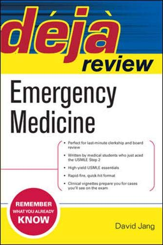 9780071476256: Deja Review Emergency Medicine