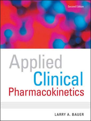 9780071476287: Applied Clinical Pharmacokinetics