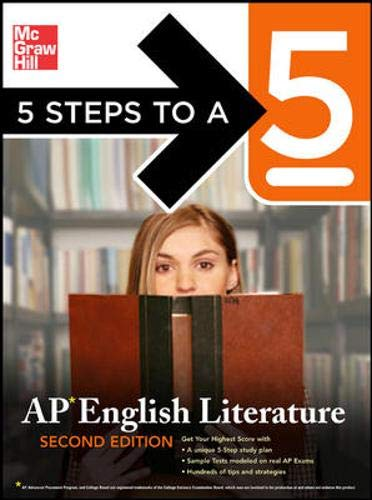 9780071476324: 5 Steps to a 5: AP English Literature, Second Edition (5 Steps to a 5 on the Advanced Placement Examinations Series)
