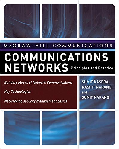 9780071476560: Communication Networks