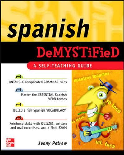 9780071476584: Spanish Demystified: A Self -Teaching Guide