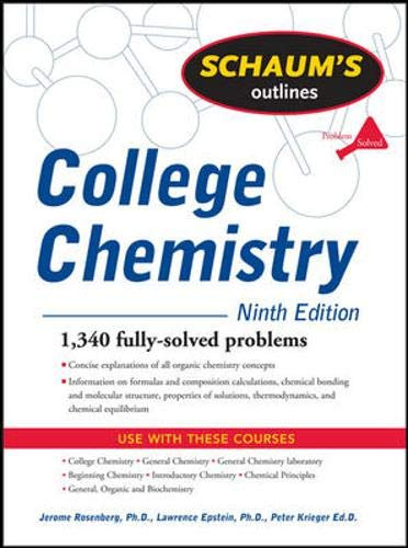 9780071476706: Schaum's Outline of College Chemistry, 9ed (Schaum's Outline Series)