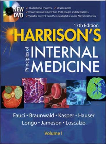 9780071476911: Harrison's Principles of Internal Medicine Vol 1/2