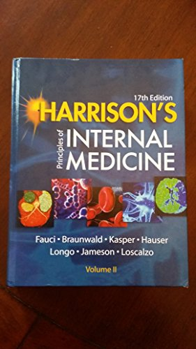 9780071476935: Harrison's Principles of Internal Medicine (Volume 2 Only) 17th Edition