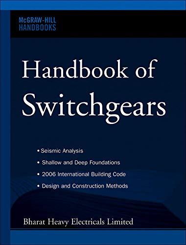9780071476966: Handbook of Switchgears (Mcgraw-hill Handbooks)