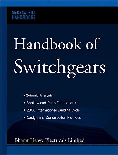 9780071476966: Handbook of Switchgears (Mcgraw-hill Handbooks)