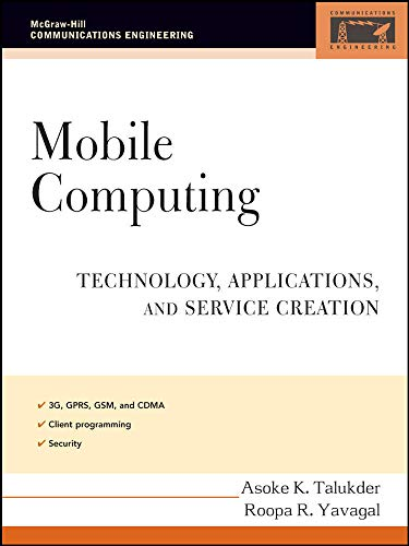 9780071477338: Mobile Computing: Technology, Applications, and Service Creation (McGraw-Hill Communications Engineering)
